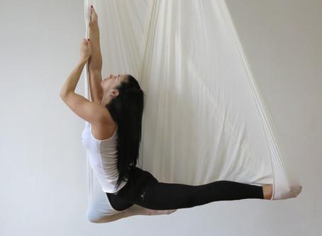 Aerial Yoga! Hogyan kezdjem?