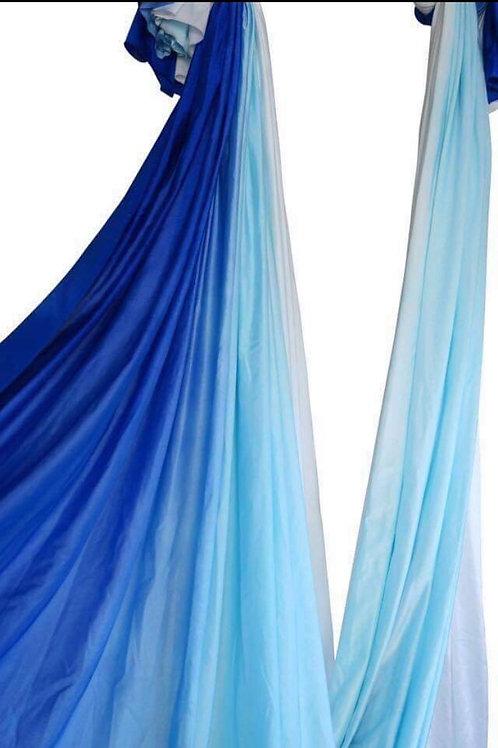 Ombre Aerial Hammock Kék-Fehér