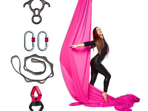 Aerial Silk szett 12m