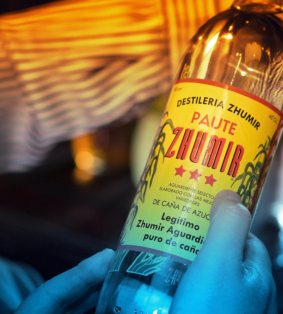 Zhumir, Corporación Azende, Azende, Bebidas, Ecuador.