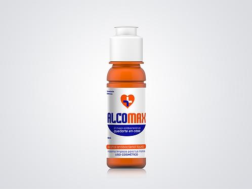90ml Alcomax, antibacterial líquido