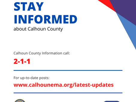 Calhoun County COVID-19 Update, 9/15/2020