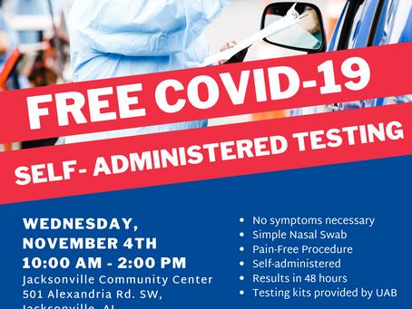 Calhoun County COVID-19 - Testing Site