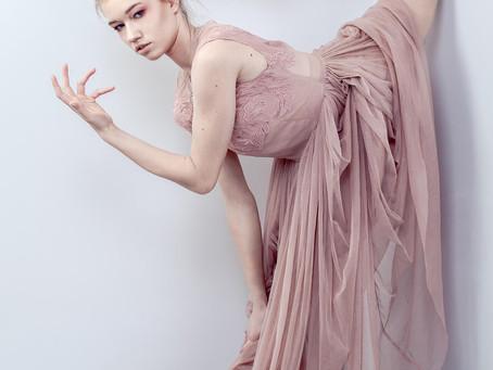 Ballerina Dream – edytorialowa sesja z modelką-gimnastyczką