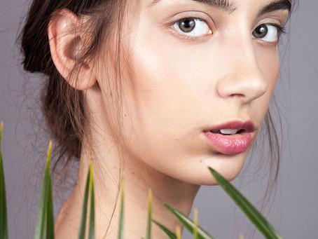 Roślinna sesja beauty z Darią