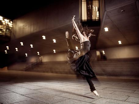Baletowa, nocna sesja z Magdą