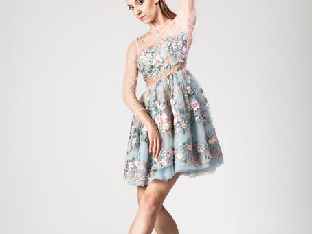 Chic en pointe, czyli piękne sukienki i tancerka baletu w roli głównej