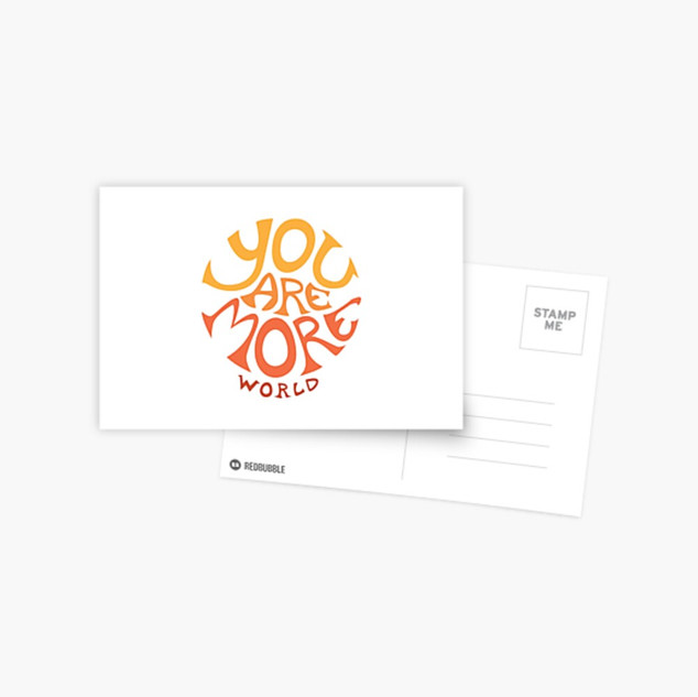 You are more - Postcard