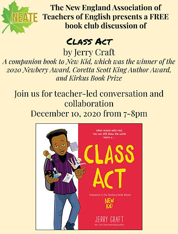 Class Act by Jerry Craft - NEATE Book Cl