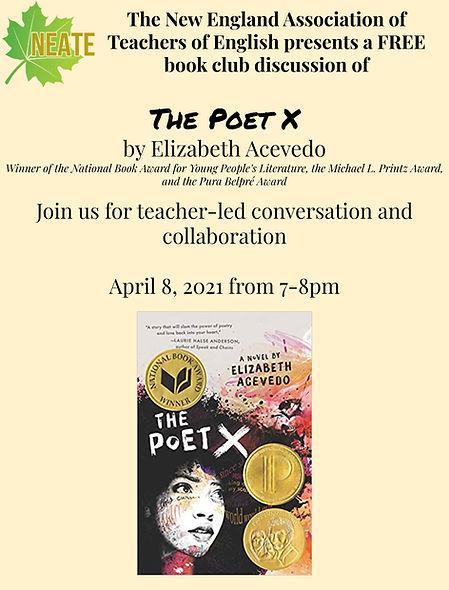 The Poet X by Elizabeth Acevedo - NEATE