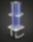 Professional UV-C disinfection robot
