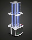 Professional UV-C disinfection robot