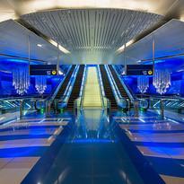 Chandelier - Jitka Skuhrava Glass, Dubaj