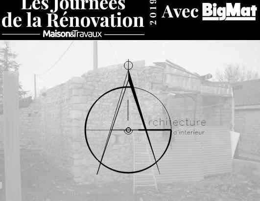 AG Architecture d'intérieur participe aux journées de la rénovation Maison&Travaux