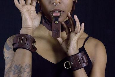 Wolfram Leather Bondage