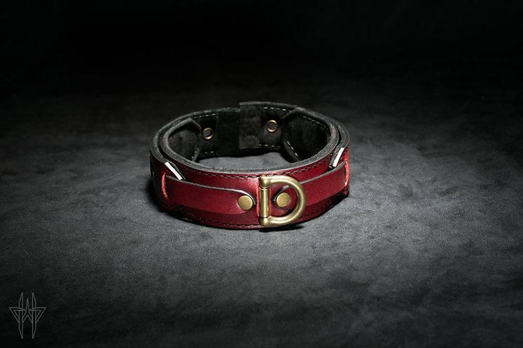 Wolfram Collar (Oxblood)