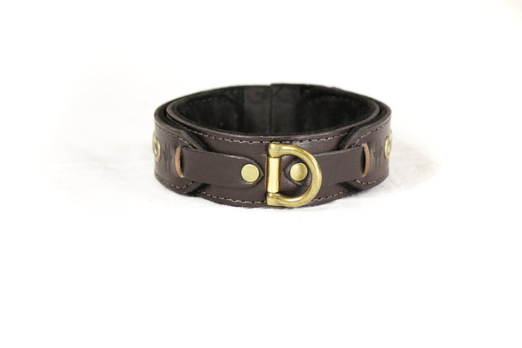 Wolfram Collar (Dark Brown)