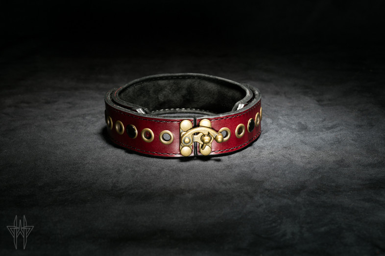 Oxblood Collar