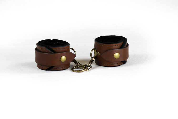 Ankle Cuffs (Chocolate)