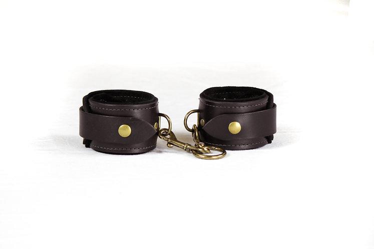 Ankle Cuffs (Dark Brown)