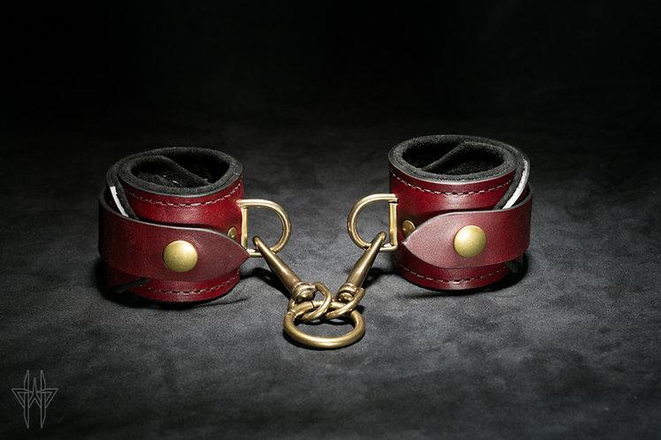Wrist Cuffs (Oxblood)