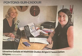 Wipsee article Sud-ouest 9 septembre 2019