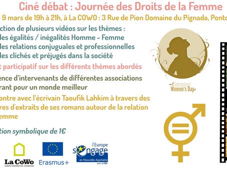 Ciné –débat Journée des droits de la femme