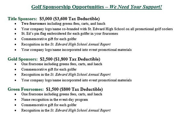 Golf Outing Sponsorship Opportunities.JP