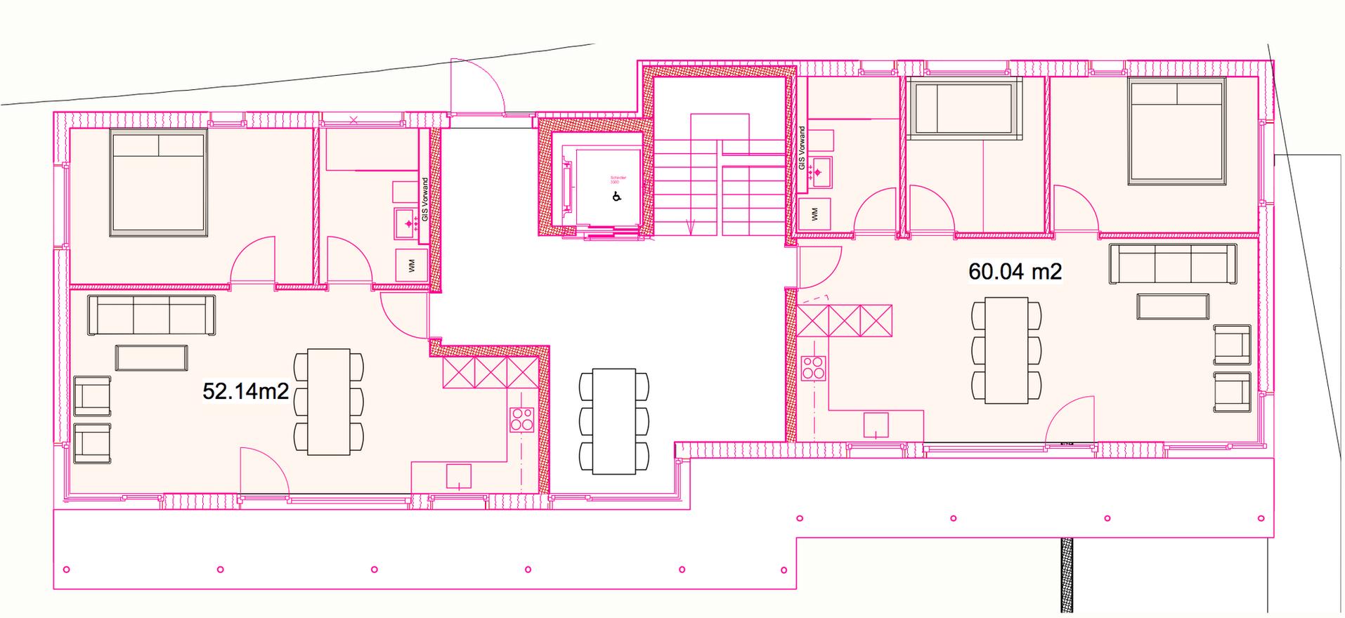 Mehrfamilienhaus Erdgeschoss