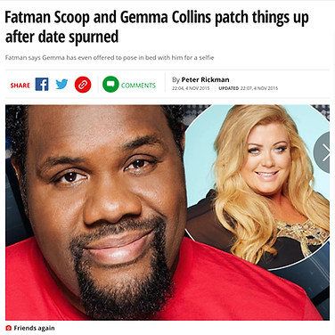 THE MIRROR (Rapper & TV star Fatman Scoop)