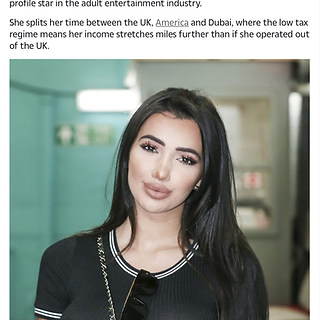 THE SUN NEWSPAPER (PLAYBOY MODEL/ TV STAR CHLOE KHAN)