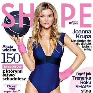 SHAPE MAGAZINE (Supermodel & TV Host Joanna Krupa)