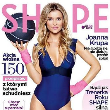 SHAPE MAGAZINE (Supermodel & TV Host Joanna Krupa)