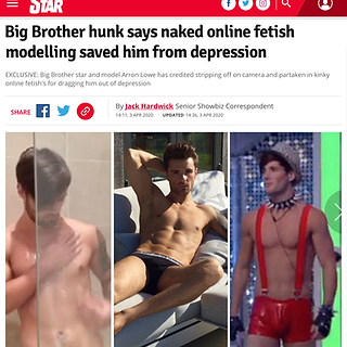 DAILY STAR (Reality Star & Model Arron Lowe)