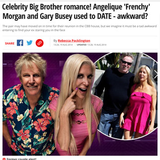 THE MIRROR (Reality TV star Angelique 'Frenchy' Morgan)