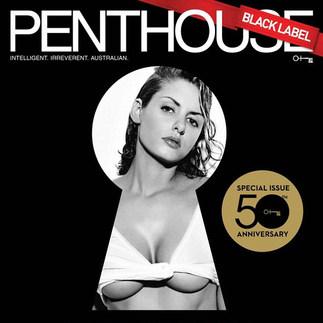 PENTHOUSE MAGAZINE COVER (TV Star & Model Gabi Grecko)