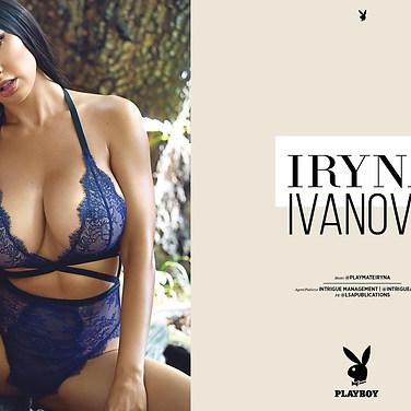 Playboy Magazine, Africa (Model Iryna Ivanova)