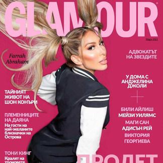 Farrah Abraham, Glamour Magazine cover 2021