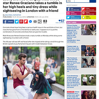 DAILY MAIL ONLINE (TV STAR RENEE GRAZIANO)