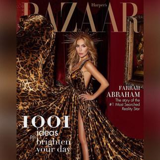 Farrah Abraham, Harper's Bazaar cover