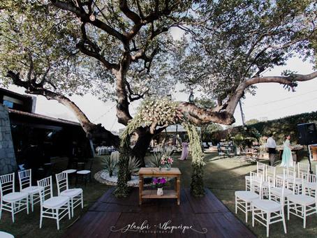 Casamento ao ar livre em Fortaleza