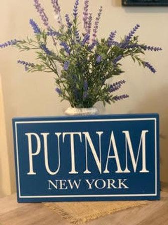 Putnam Wooden Sign