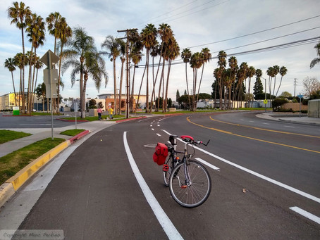 California Street bike lane improved to make safer routes to schools and SART