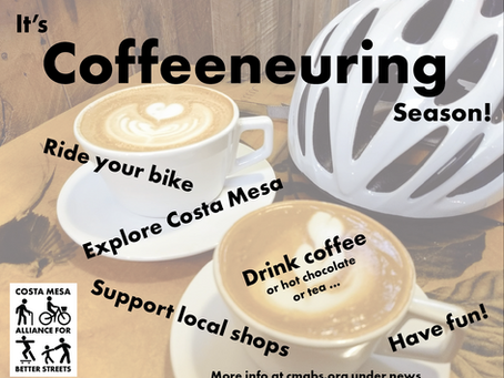 Coffeeneuring 2019: have fun this fall riding to local coffee shops