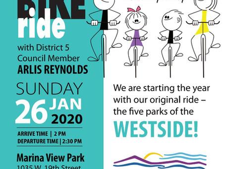 Community Ride January 26