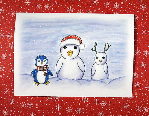 Family Christmas- Holiday Card