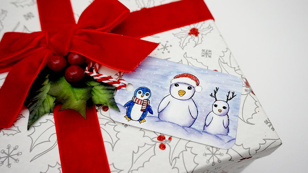 Family Christmas~ Gift Tag