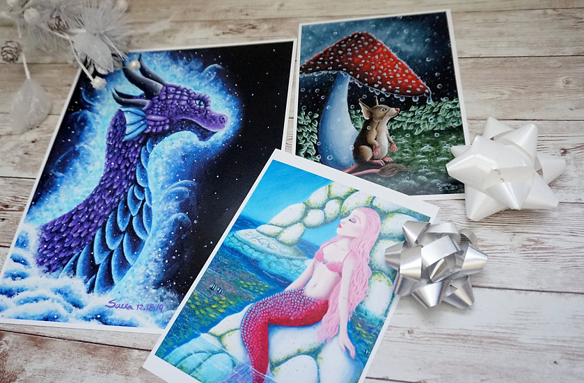 Fantastical Beast Fine Art Print Pack