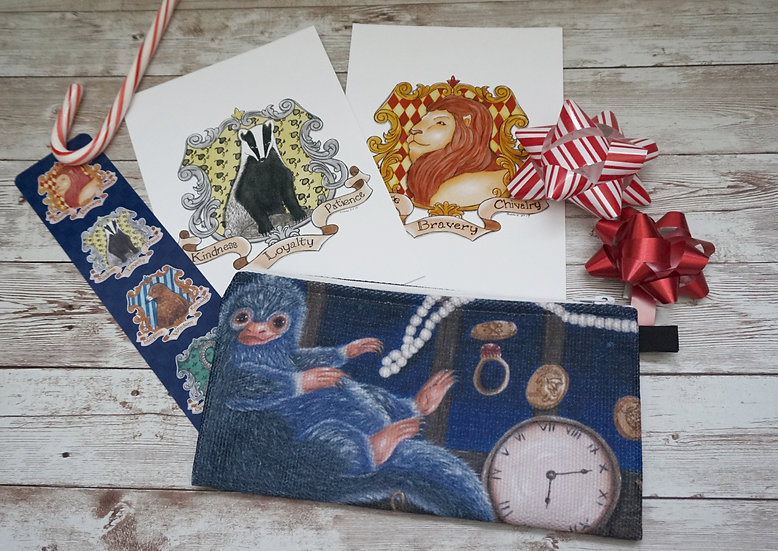 Wizarding World Pouch Gift Set