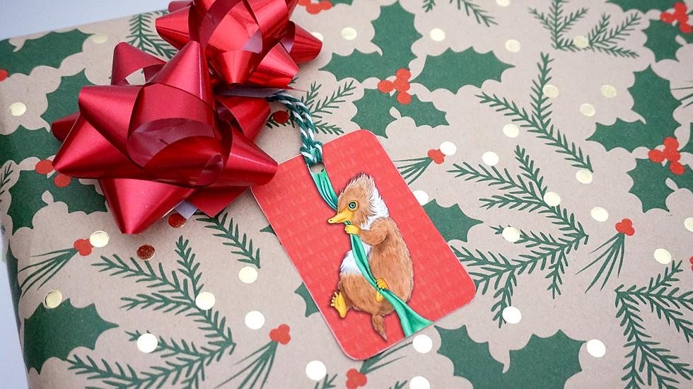 Present Thief~Gift Tag